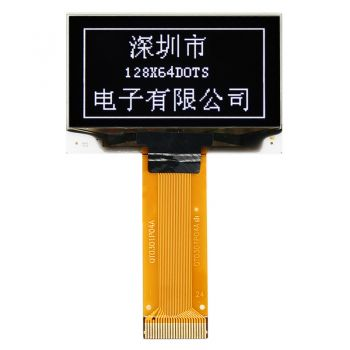 1.54 inch 128x64 Dots White OLED Display