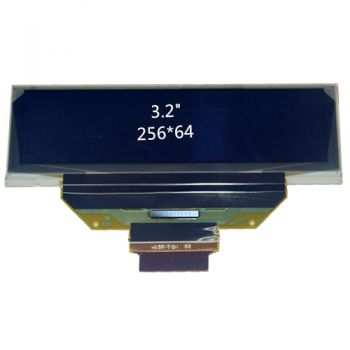 3.20 inch 256x64 Dots White OLED Display